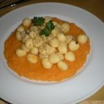 Gnocchi tartufo e zucca