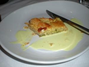Zucchini pastry