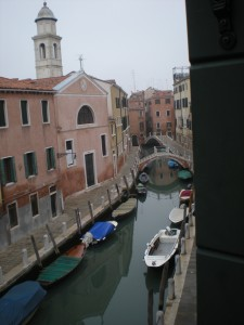 Canal from room