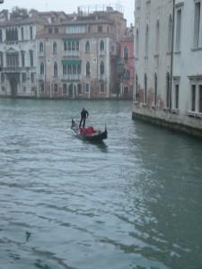 Gondola at dusk