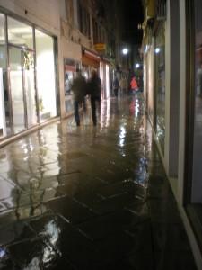 Venice wet