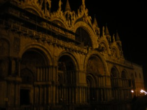 S. Marco at night