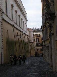 Tall Rome walls
