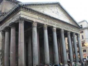 Pantheon dusk