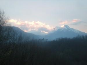 Barga/Fornaci sunset
