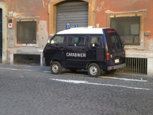 Armored minivan