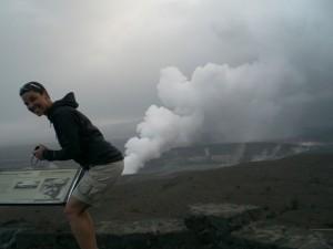 Volcano butt